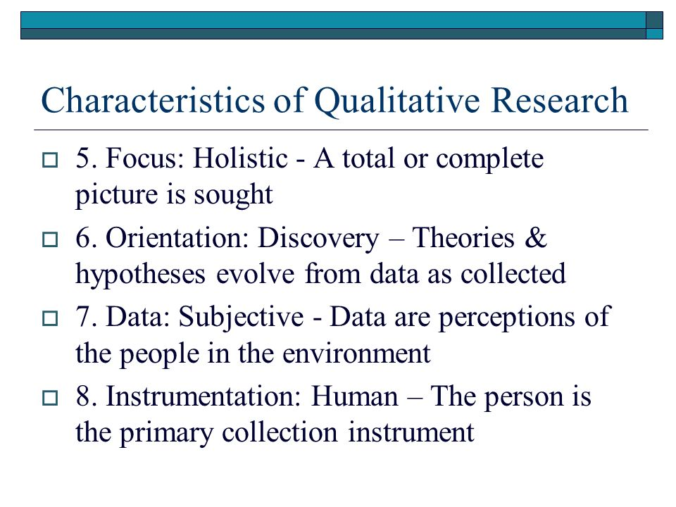 qualitative research paper