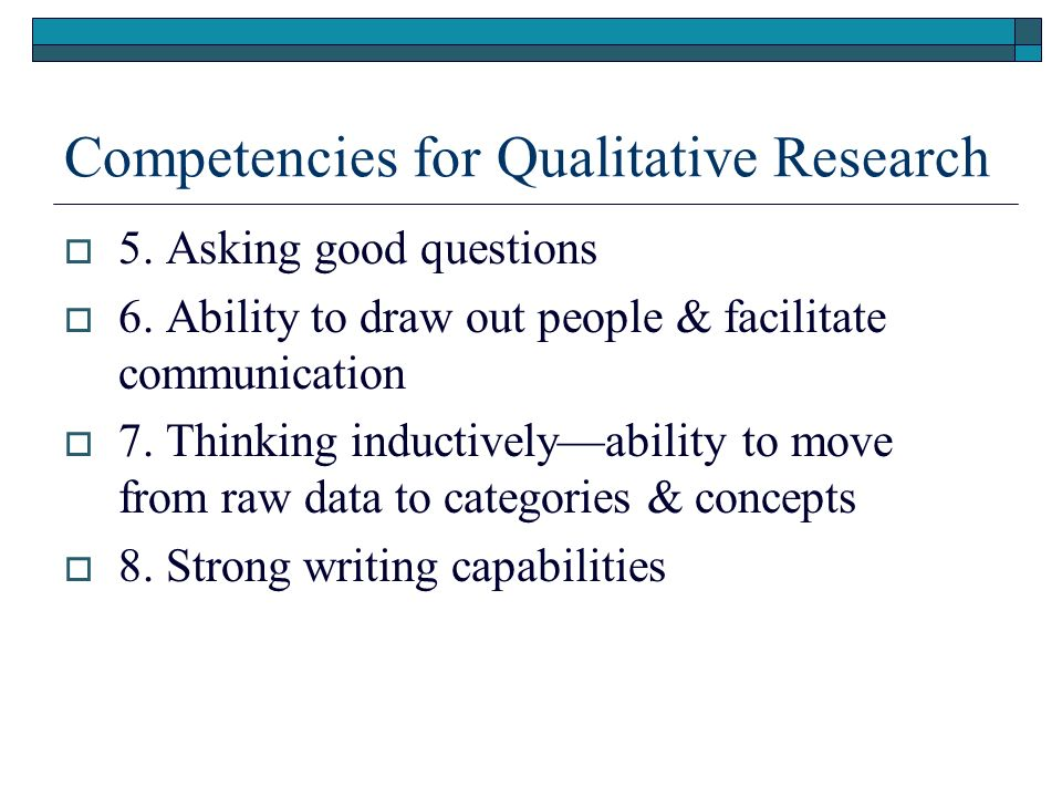 qualitative research benefits