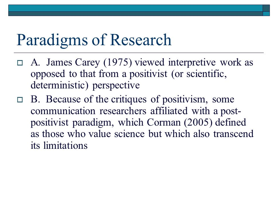 positivist research definition