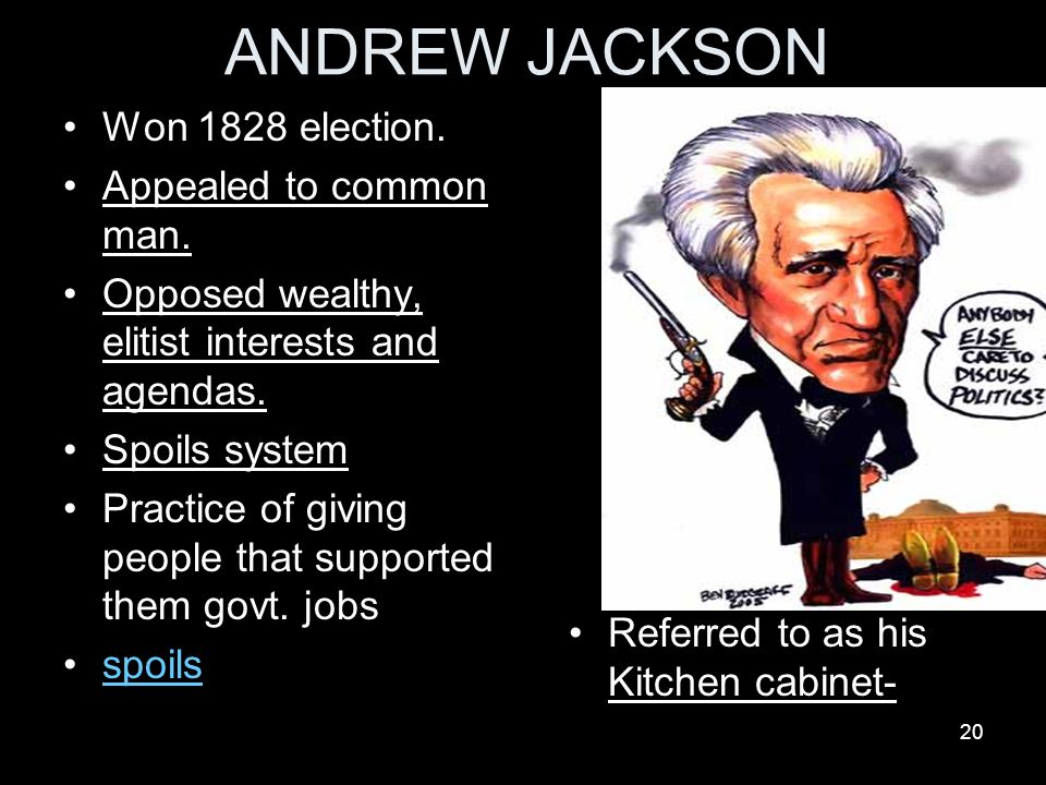 Kitchen Cabinet Andrew Jackson chapter 7 balancing nationalism and sectionalism - ppt download