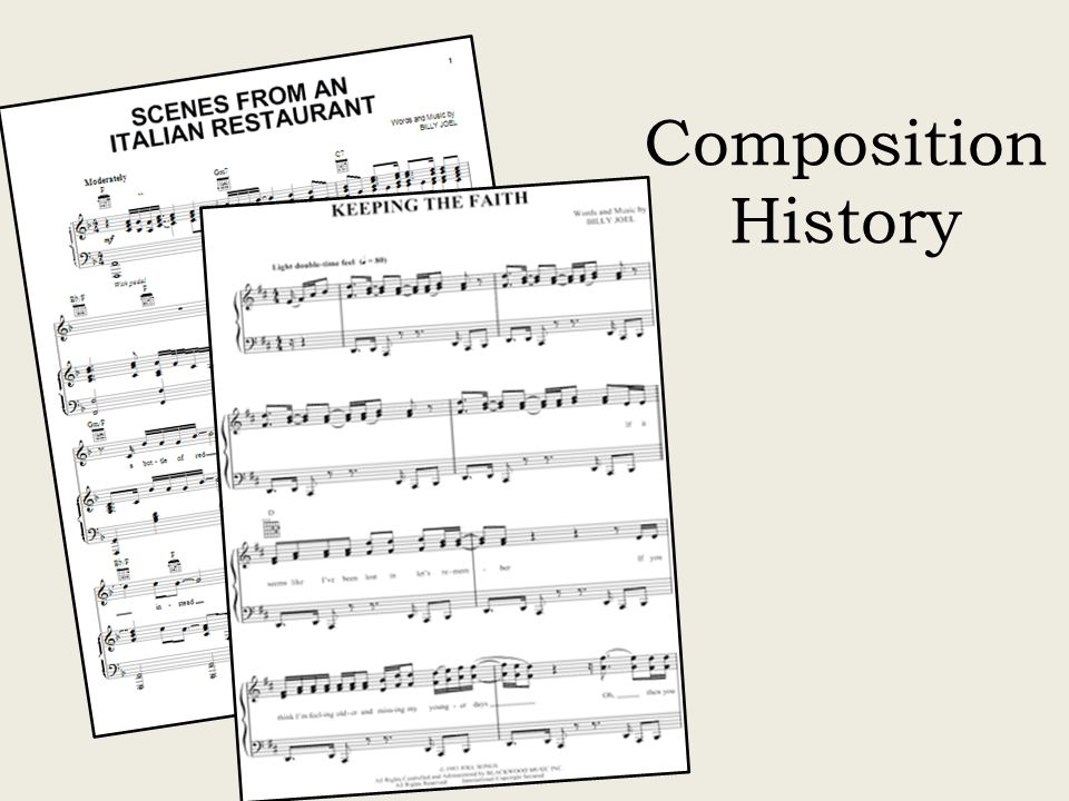 The Piano Man Biography Composition History And Listening Guides