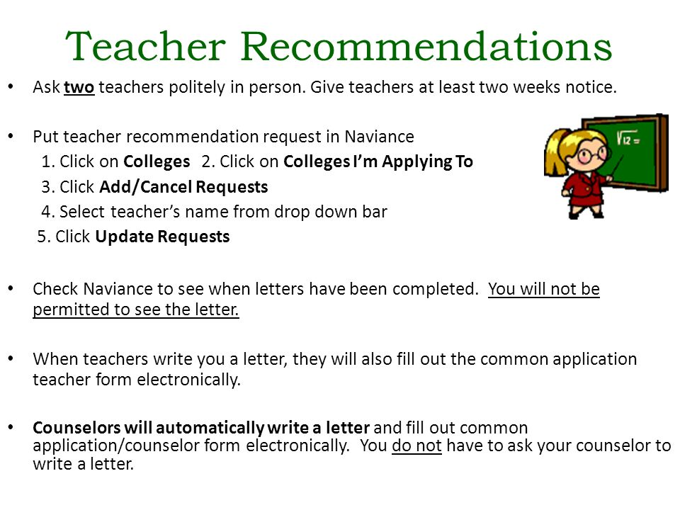 common application letters of recommendation deadline