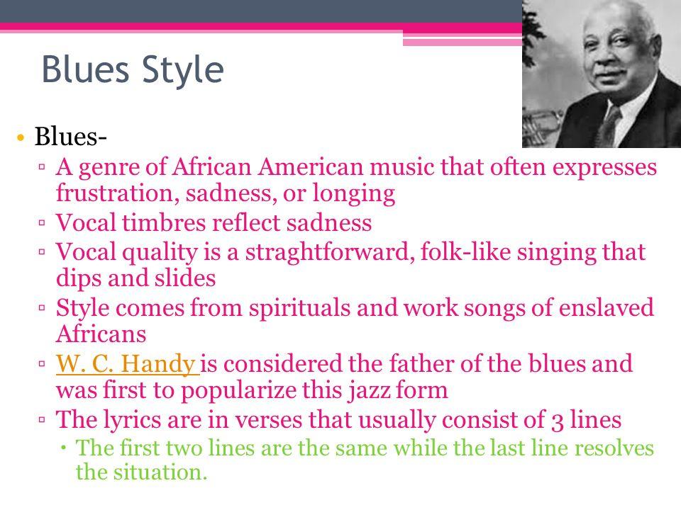 American blues lyrics