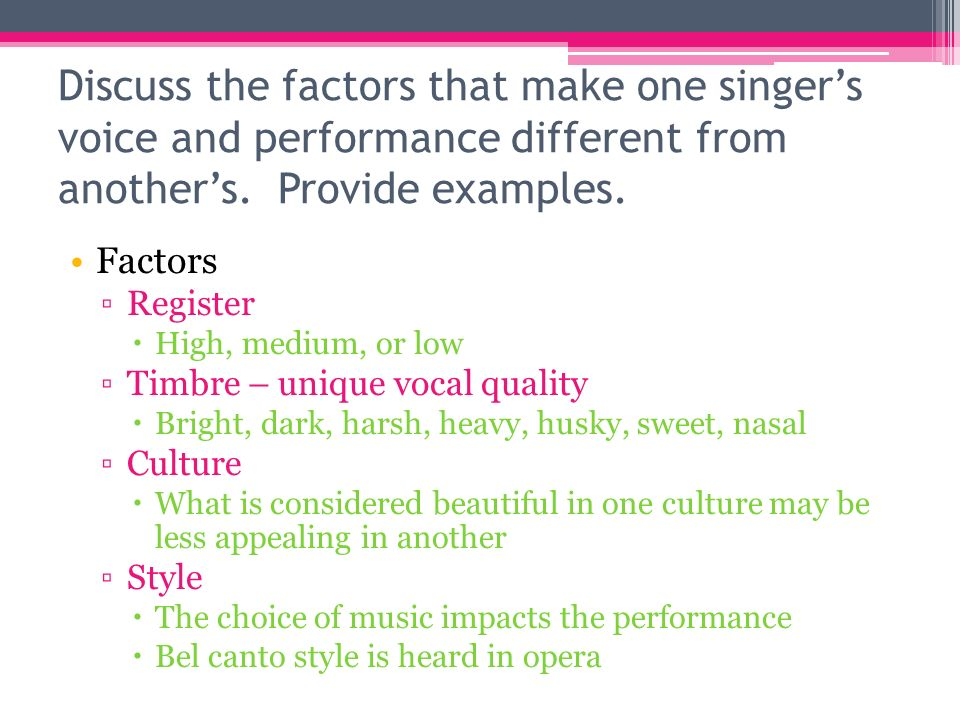 vocal music chapter ppt download