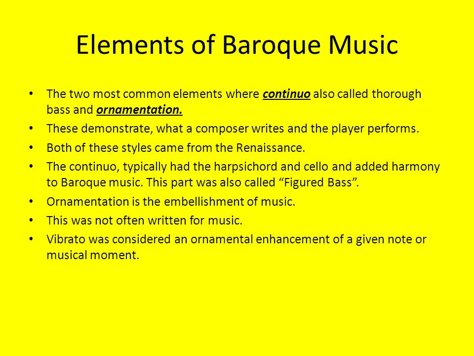 How to write a continuo part in baroque