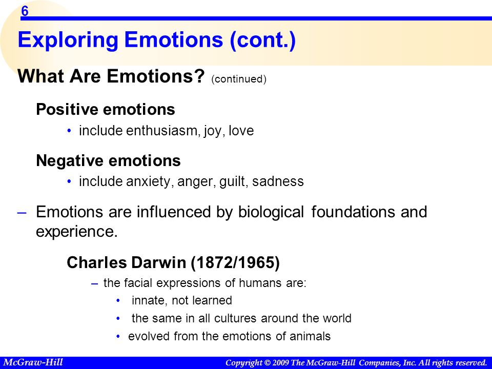 Useless Emotions: Guilt and Worry