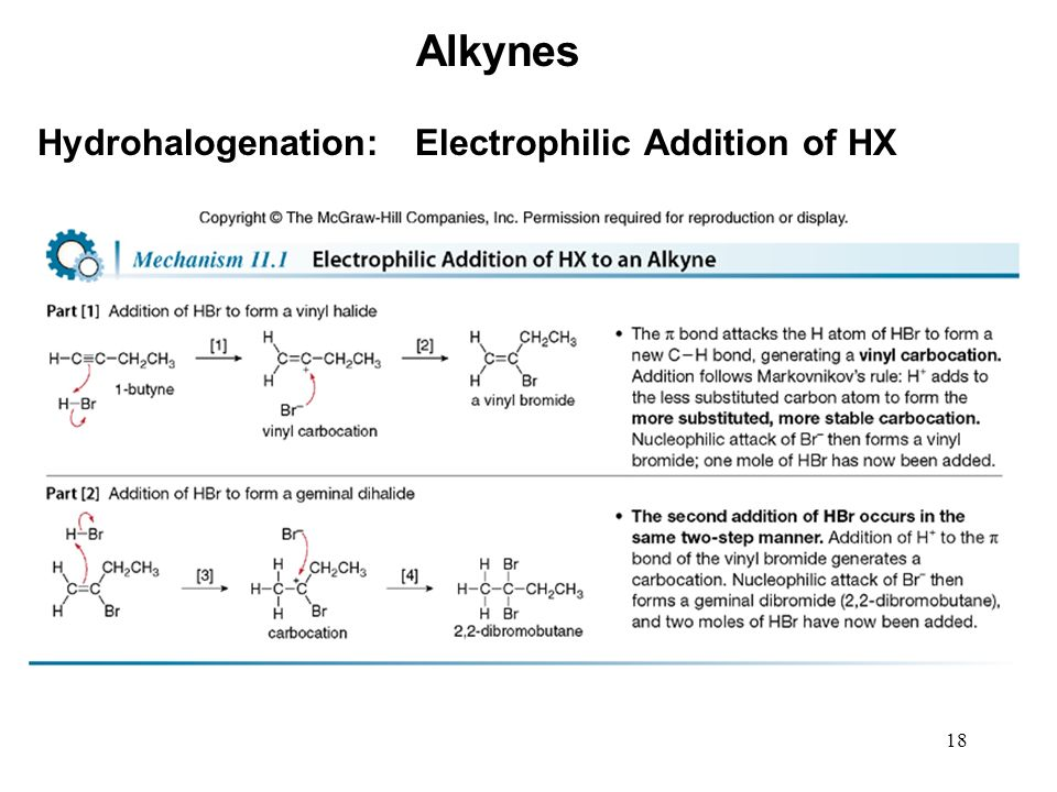 Chapter 11 Alkynes Organic Chemistry Second Edition Ppt