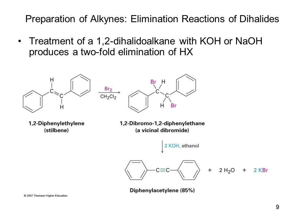 Ch 8 Alkynes An Introduction To Organic Synthesis Ppt