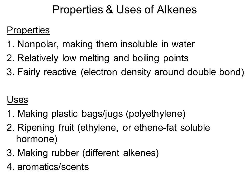 Physical and chemical properties of alkanes alkenes and alkynes pdf