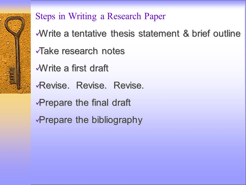 final research paper revised