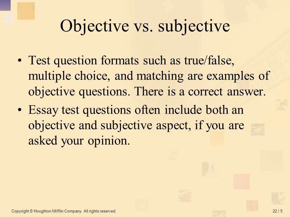 essay tests multiple choice Ten essential rules for creating multi-choice questions this article covers the basic rules for creating multiple-choice test questions essay questions.