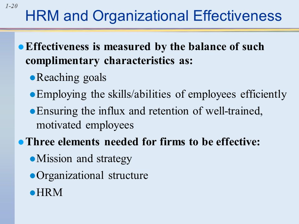 Team Effectiveness Assessment
