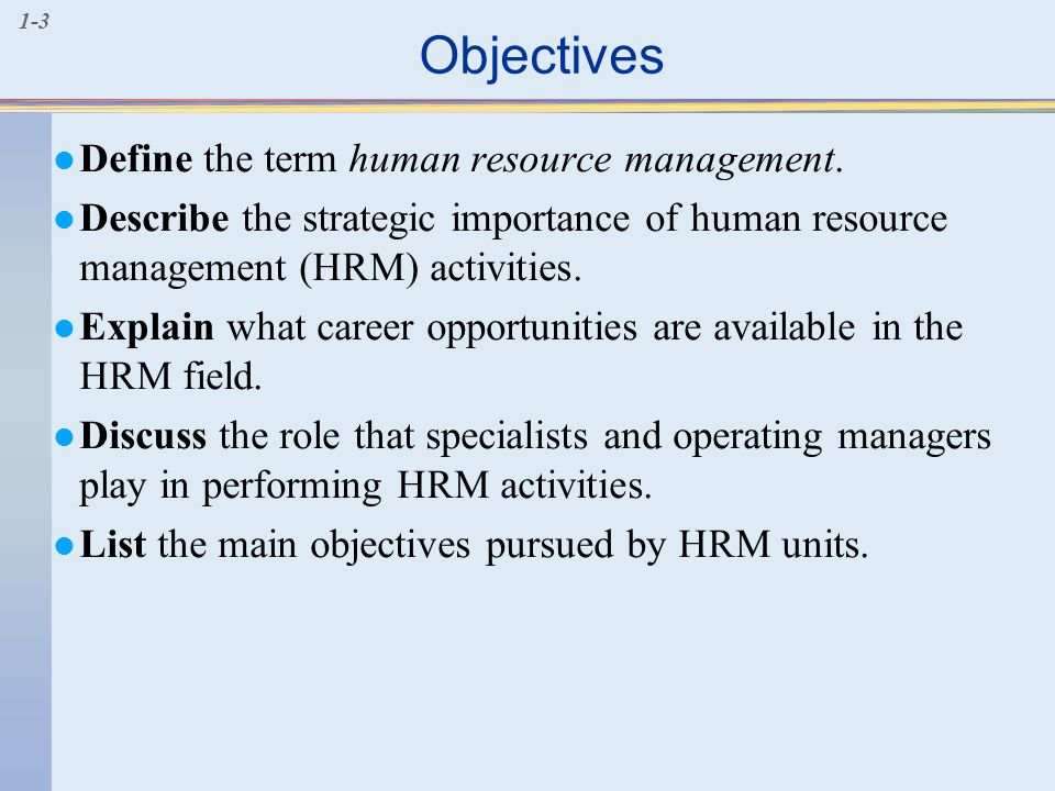 importance of hrm in tourism