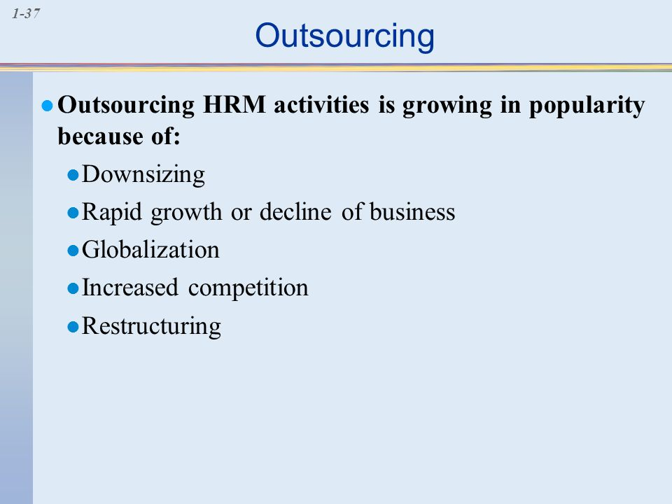 growing importance of hrm in globalization In this article, we discuss the reasons for organizations to have a hrm strategy as well as the business drivers that make the strategy imperative for organizational.