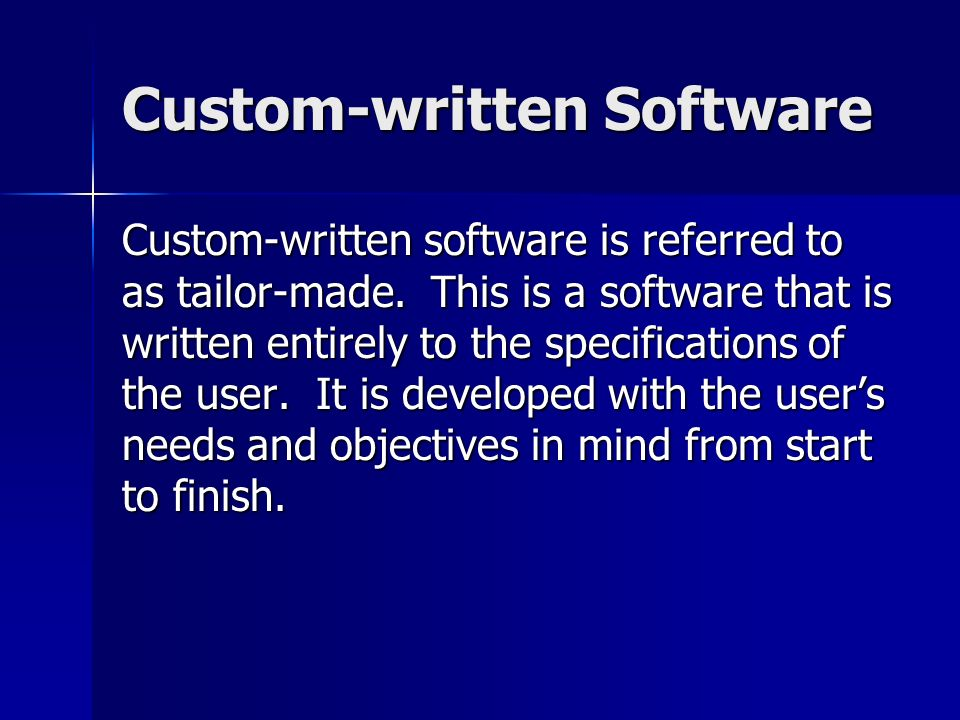 advantage and disadvantage of custom written software Article of custom written software advantages and disadvantages report writing training for police officers, order of arguments in an essay, chronological order.