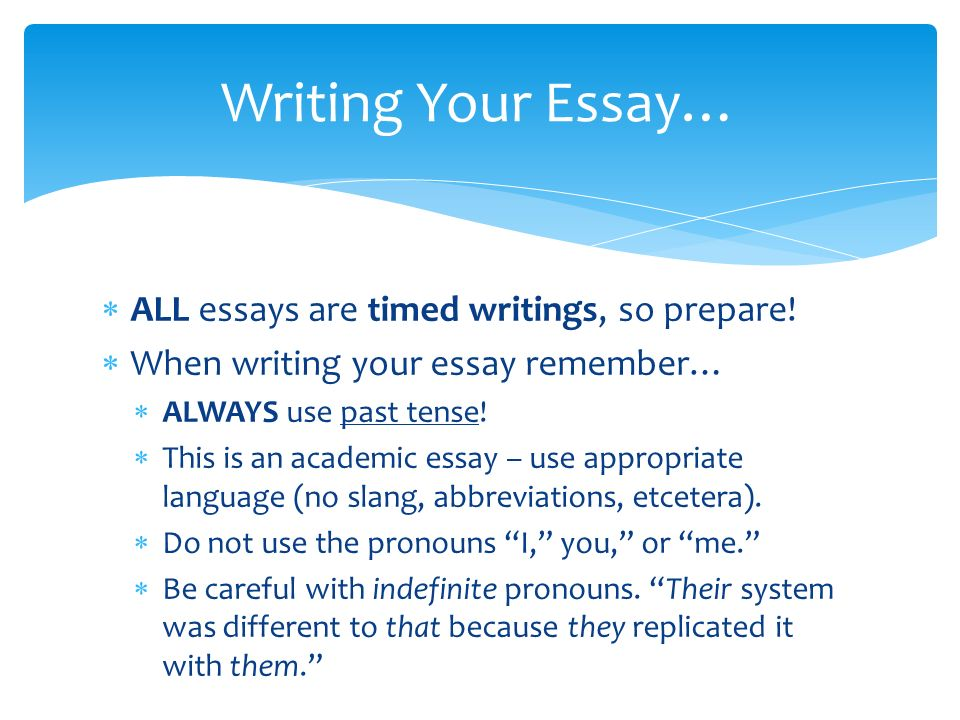 comparative essay writing ppt  4 writing your essay