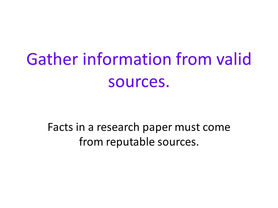 research paper sources database The article databases will be the major source of scholarly or peer the nature of your assignment or research paper and the availability of materials will help.
