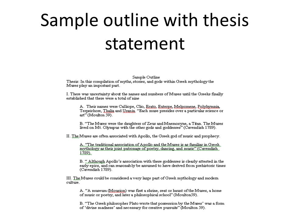 how to write a research paper thesis statement How To Write A Thesis Statement For A Research Paper?