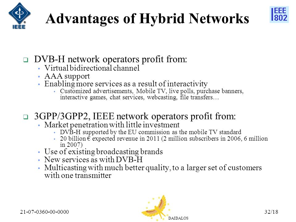 Advantages of Hybrid Networks