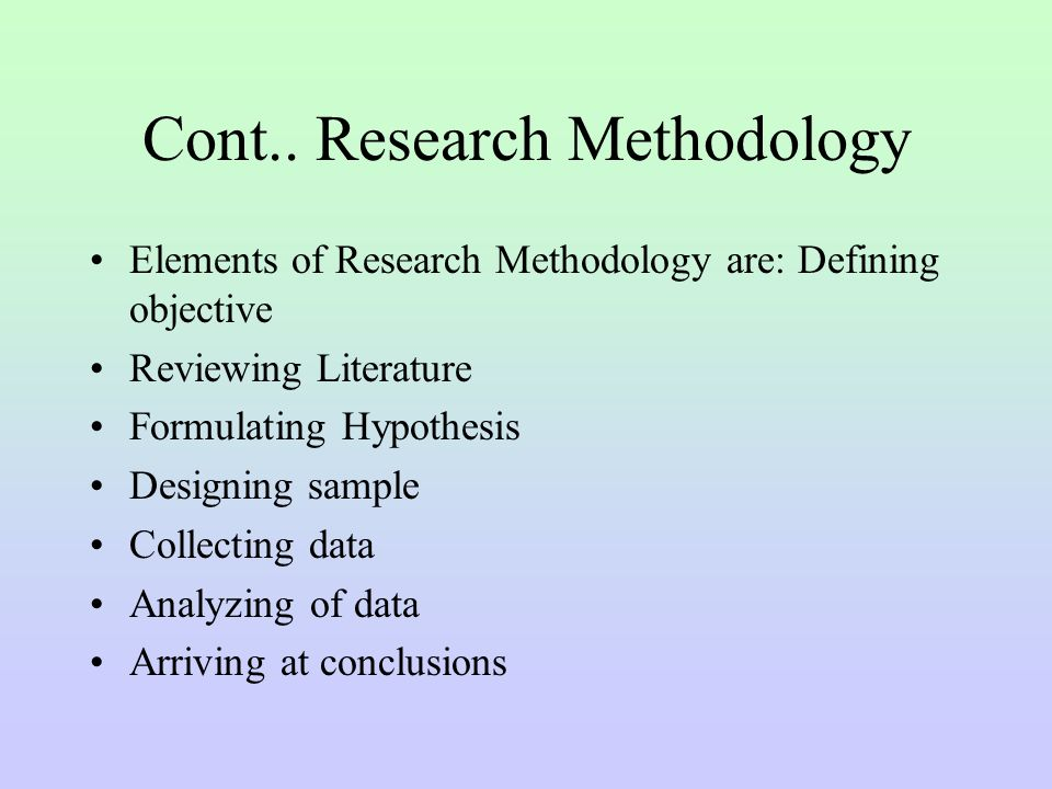 key elements of research methods Elements of a research article - continued describes the method used to gather information or data collection e describes the means used for measuring or.