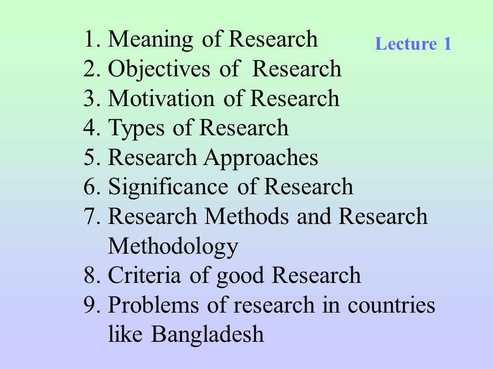 Research Methodology Related Tutorials