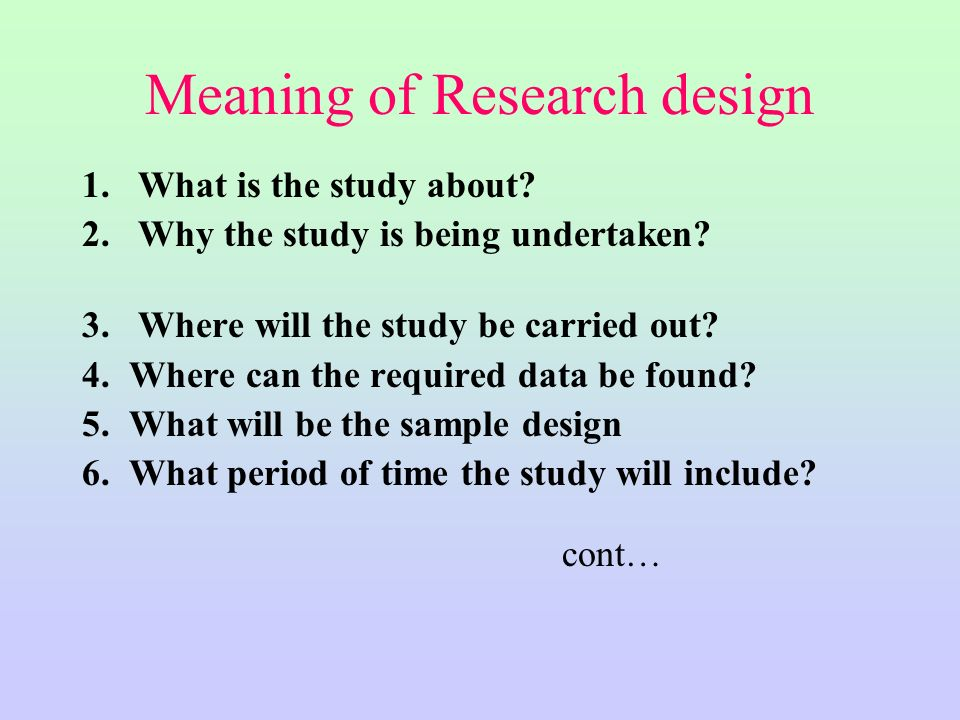 what is scope of research paper