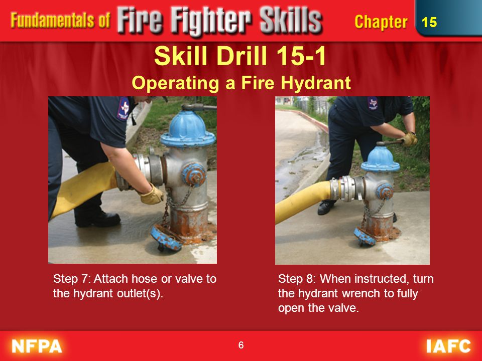 Water Supply Skill Drills Ppt Video Online Download
