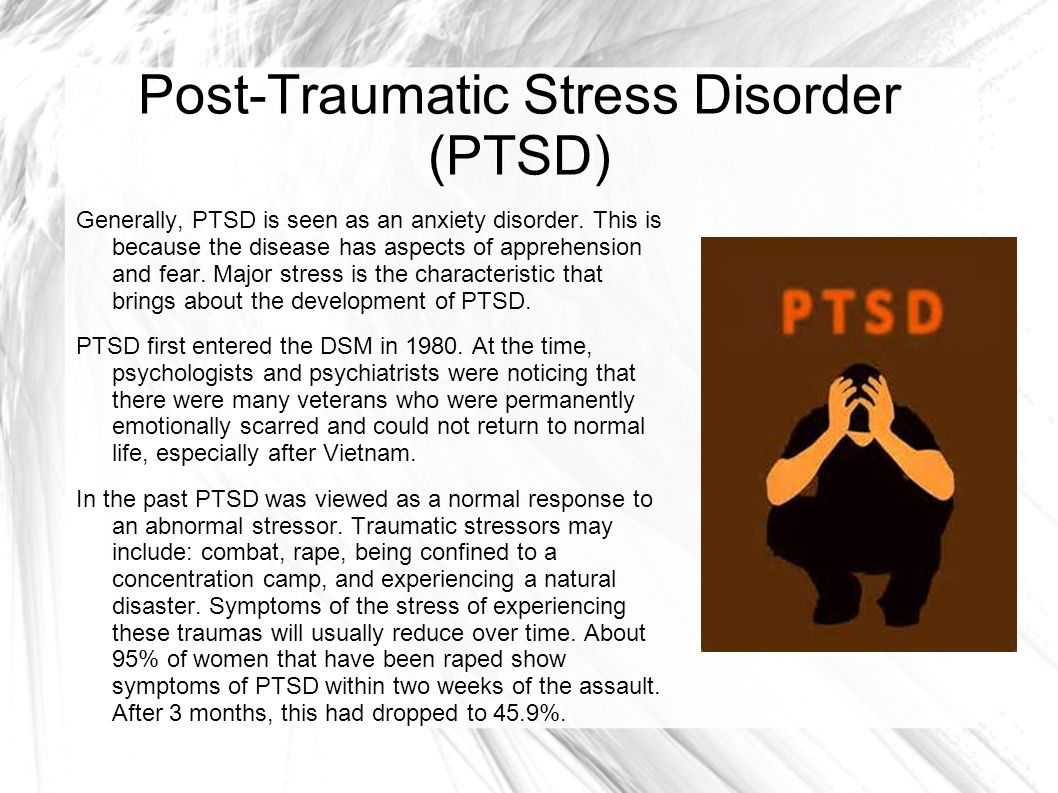 PTSD: What you need to know