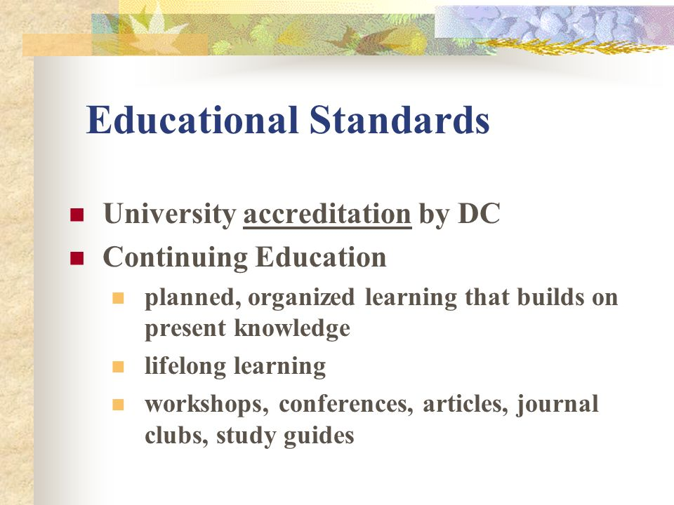 Articles on adult education programs