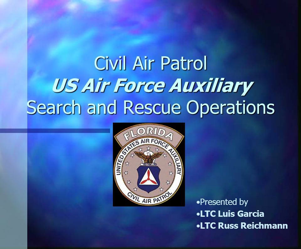 d168f7d1829 Civil Air Patrol US Air Force Auxiliary Search and Rescue Operations ...