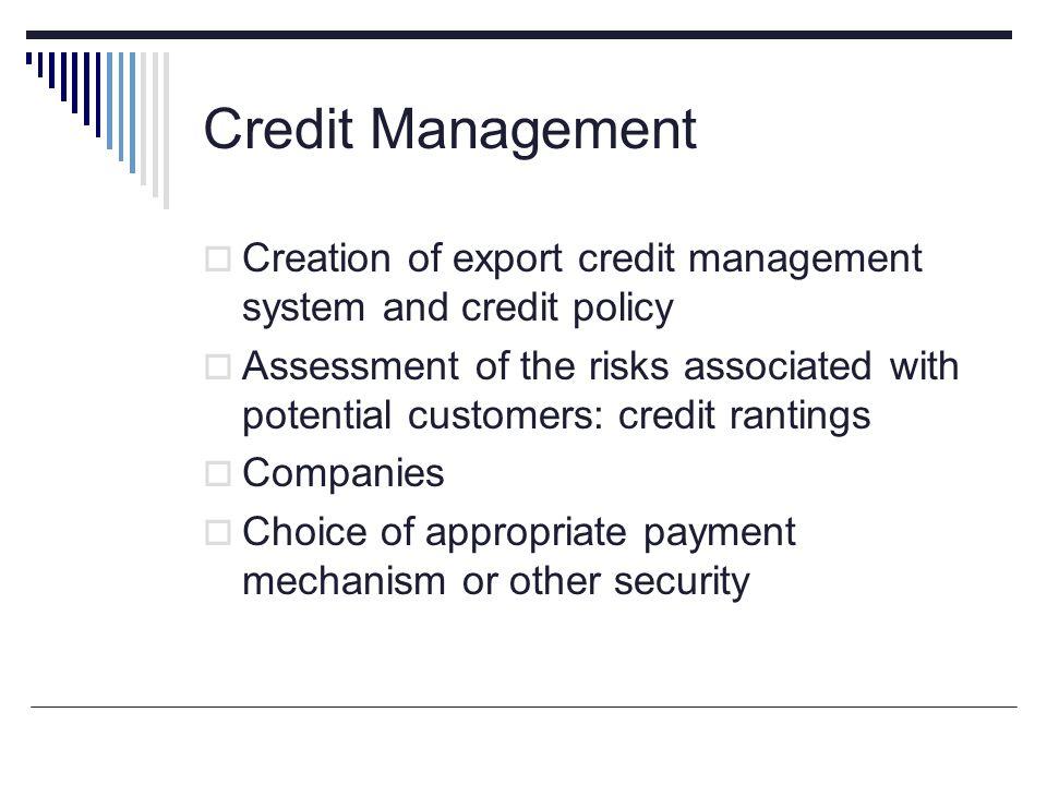 credit management system Compliance management system (cms) bezeichnet die gesamtheit der im  unternehmen eingerichteten maßnahmen und prozesse, um regelkonformität.