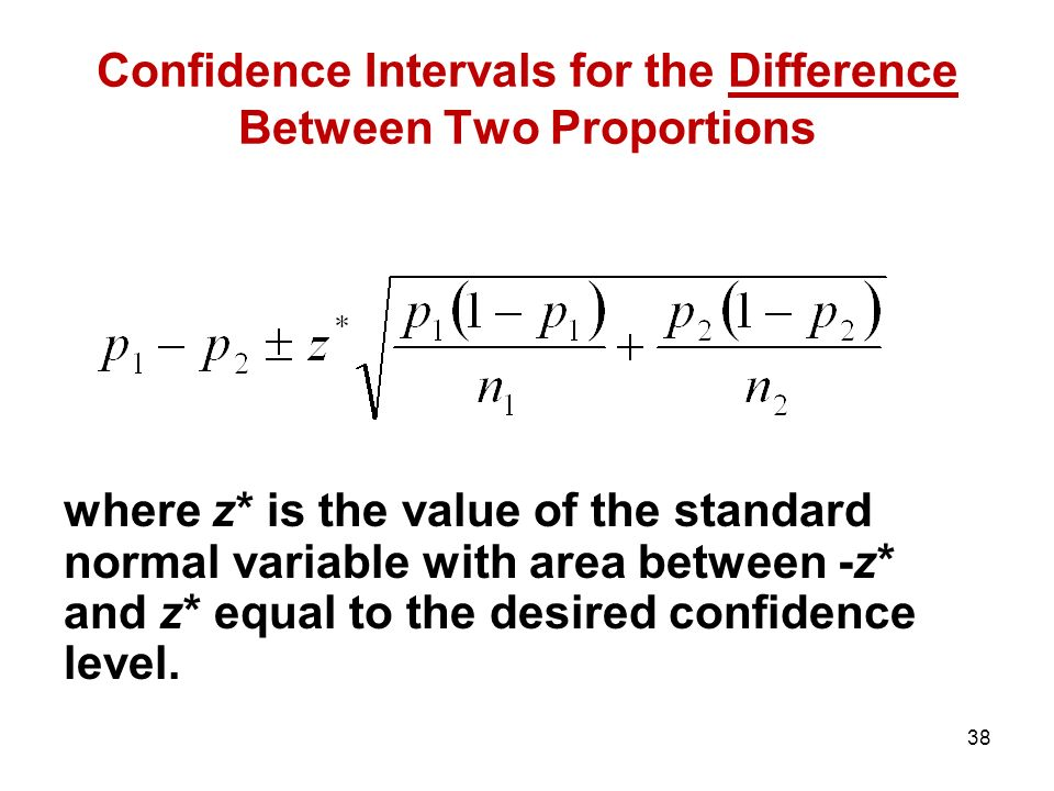 relationship between standard error and confidence interval
