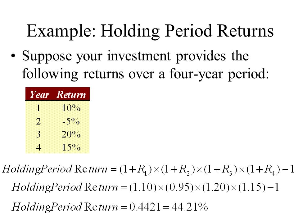 holding period of common stock A the value of common stock today depends on the expected future holding period from finance 300 at ill chicago.