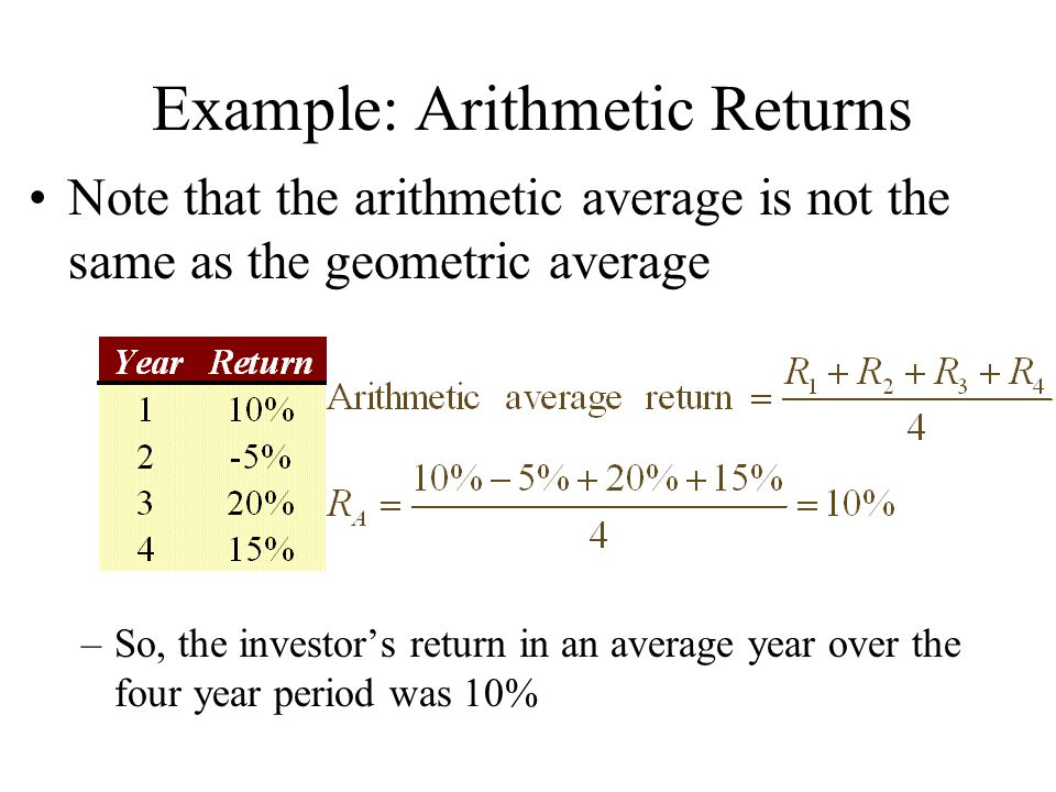 arithmetic and geometric mean pdf
