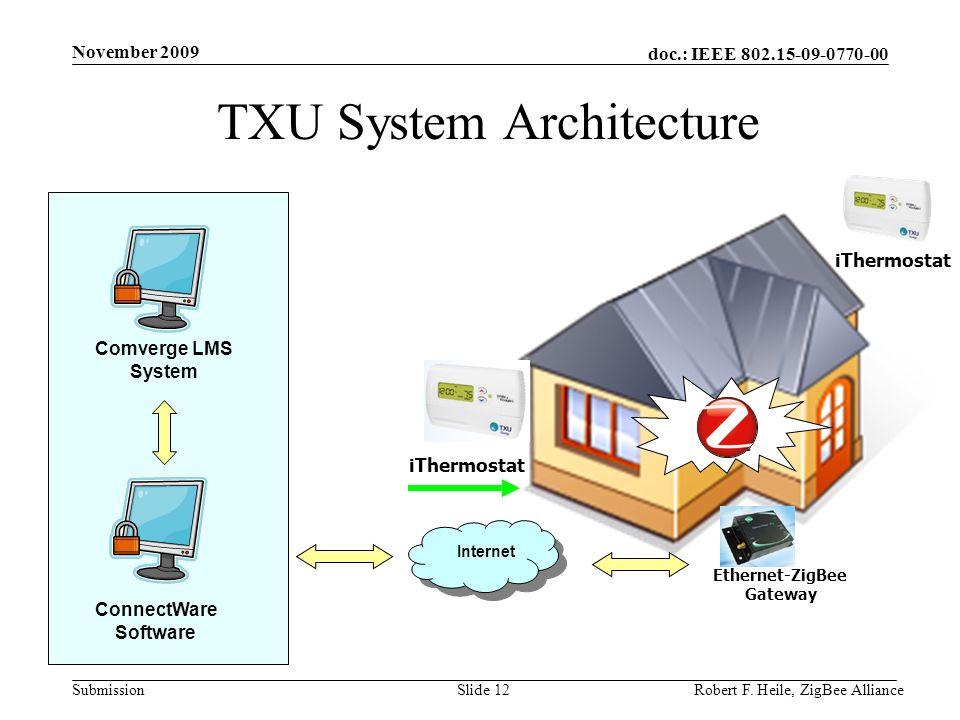 TXU System Architecture