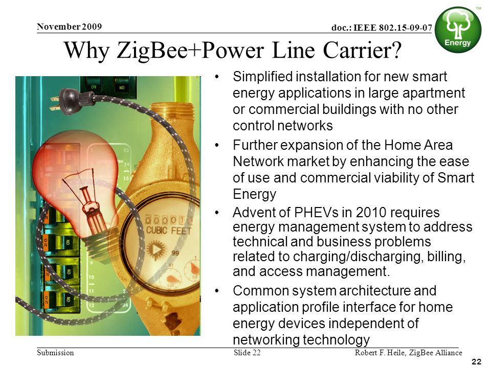 Why ZigBee+Power Line Carrier