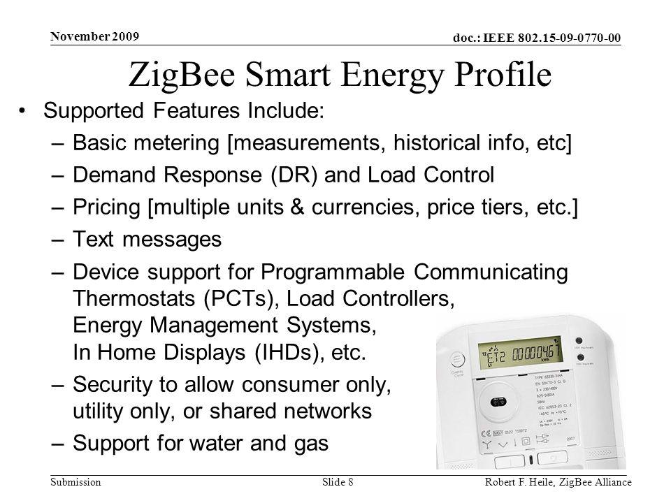 ZigBee Smart Energy Profile