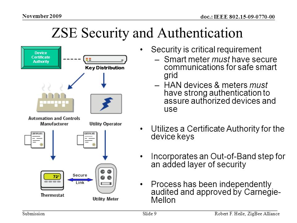 ZSE Security and Authentication