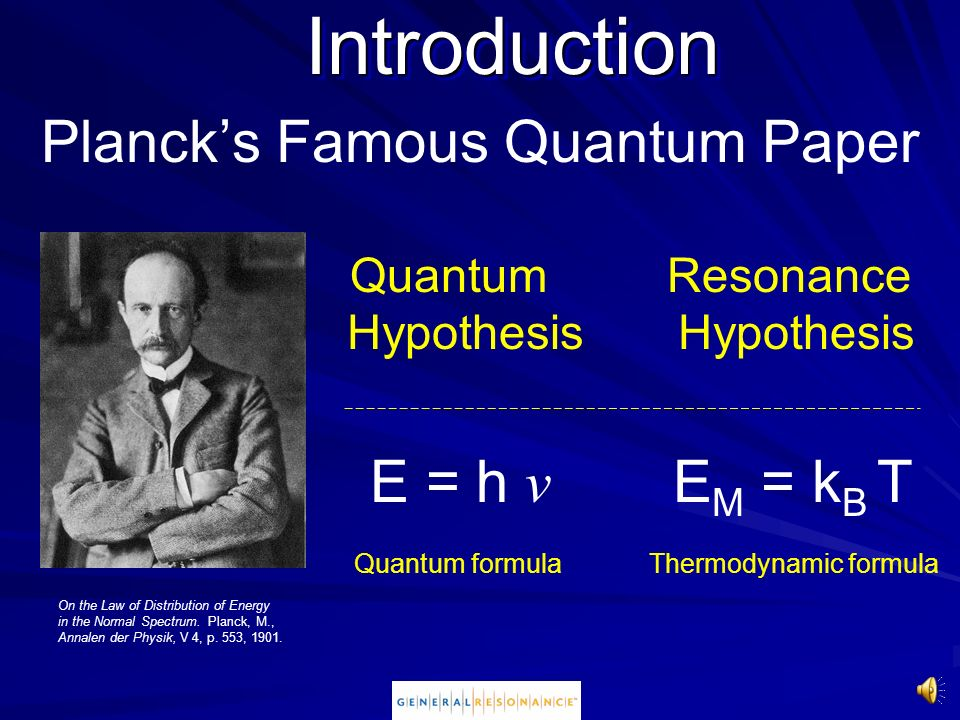 Planck's Famous Quantum Paper