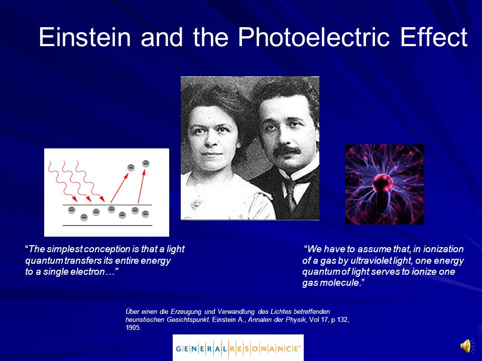 Einstein and the Photoelectric Effect