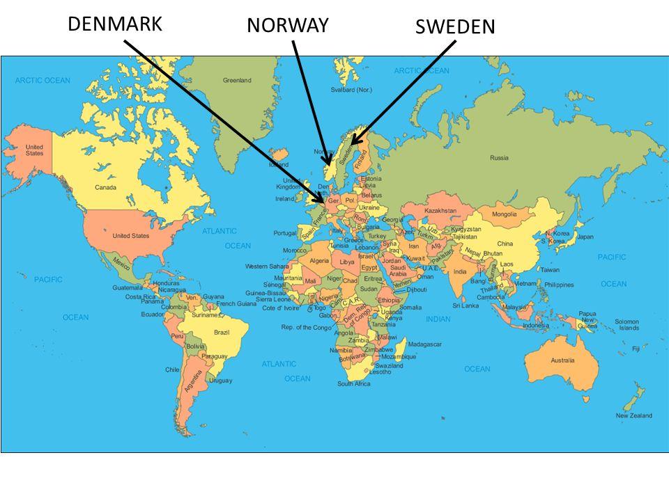 The Vikings Ppt Download - Norway map vikings