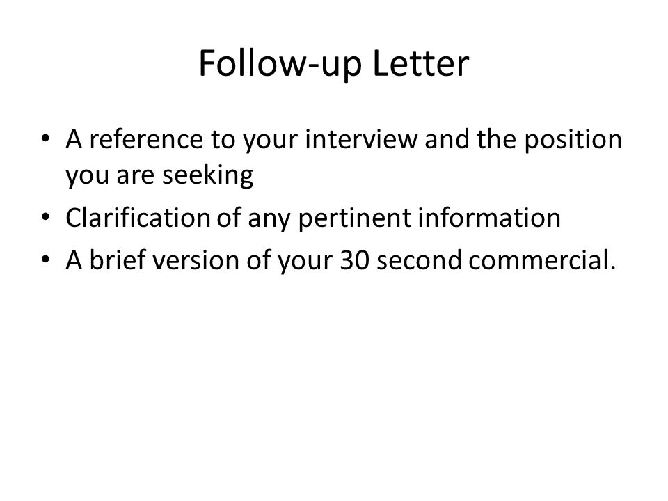 Wrap Up The Interview In Your Favor  Ppt Video Online Download