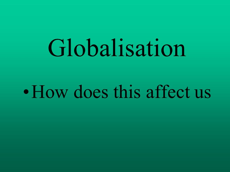 how does mcdonaldization does affect us This brings us to the third aspect of mcdonaldization, which is calculability, being able to obtain large amounts of things in a very timely fashion although a speech isn't a large amount of things to produce, it requires a large amount of time to produce.