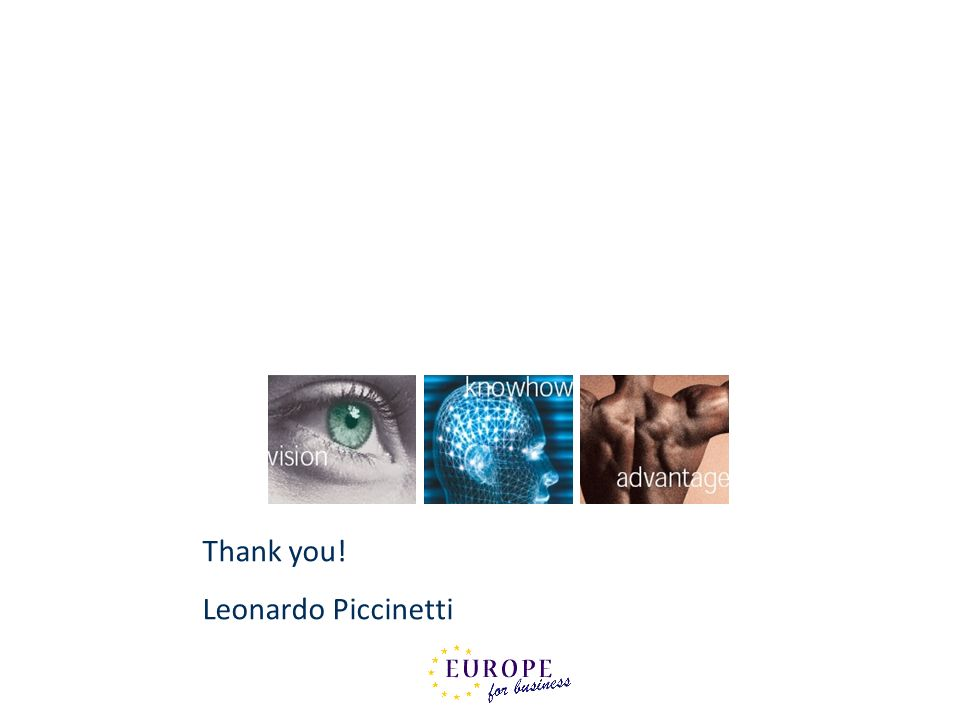 Thank you! Leonardo Piccinetti