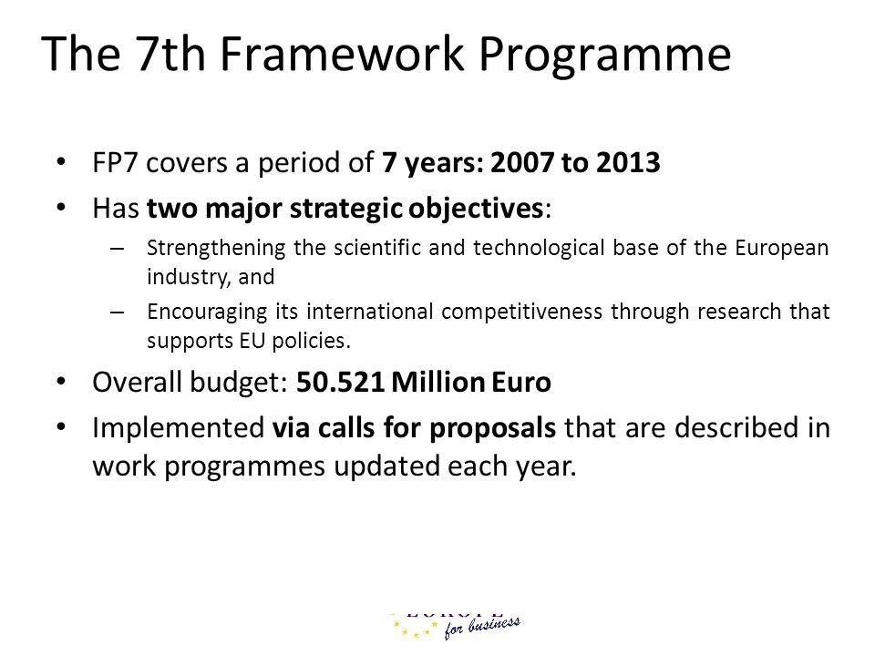 The 7th Framework Programme