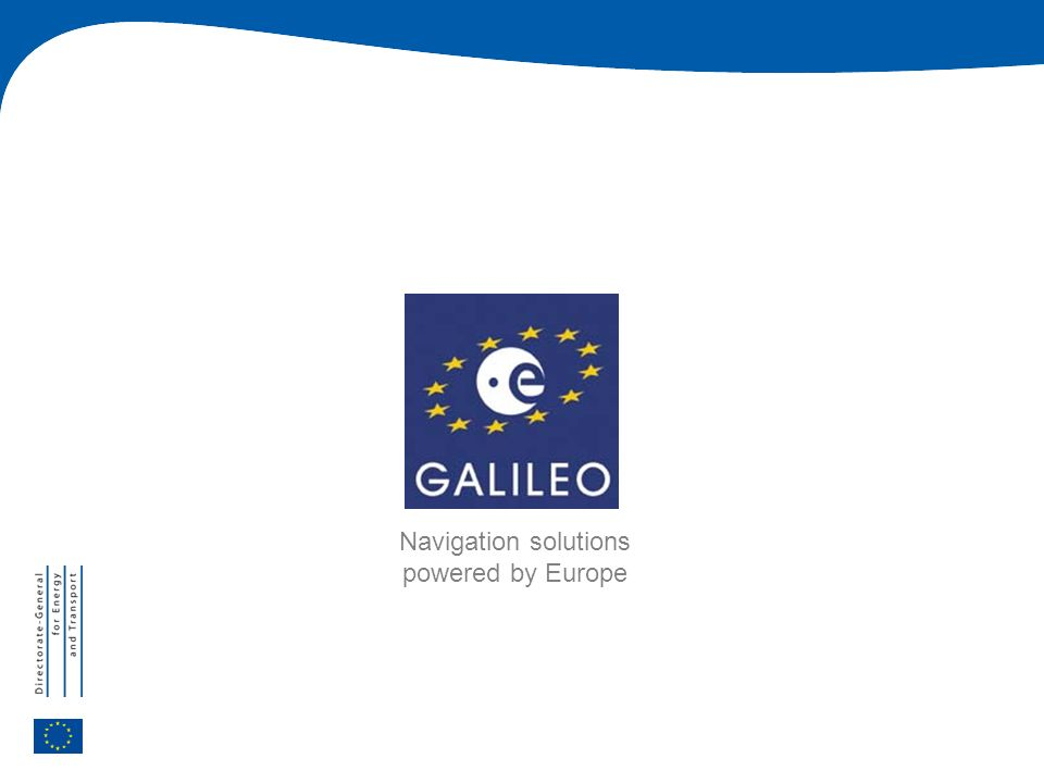 Navigation solutions powered by Europe