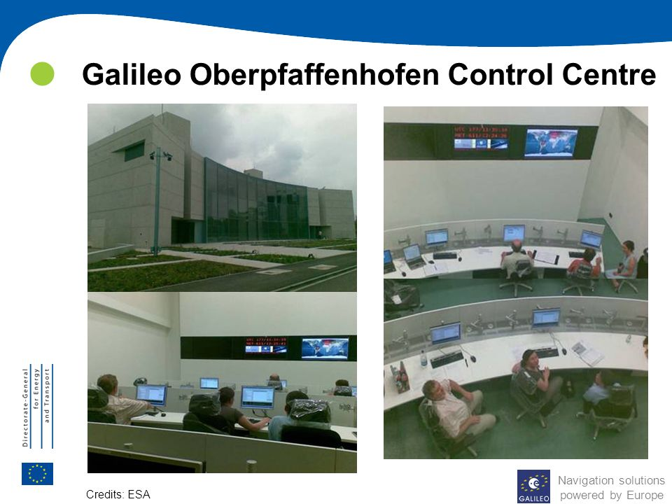 Galileo Oberpfaffenhofen Control Centre