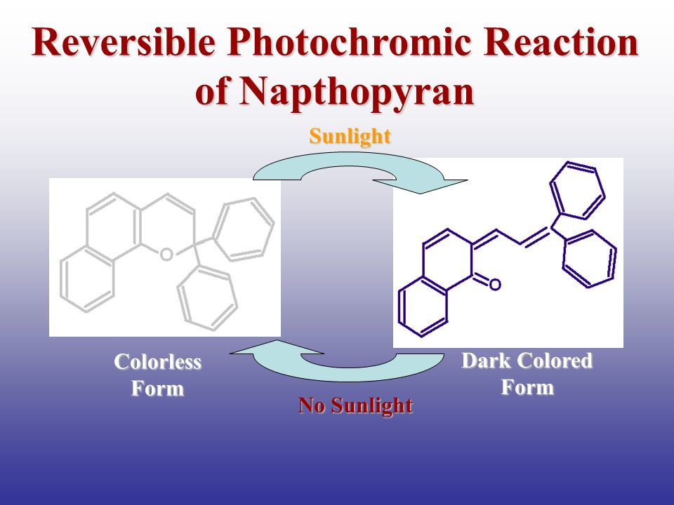 Reversible Photochromic Reaction