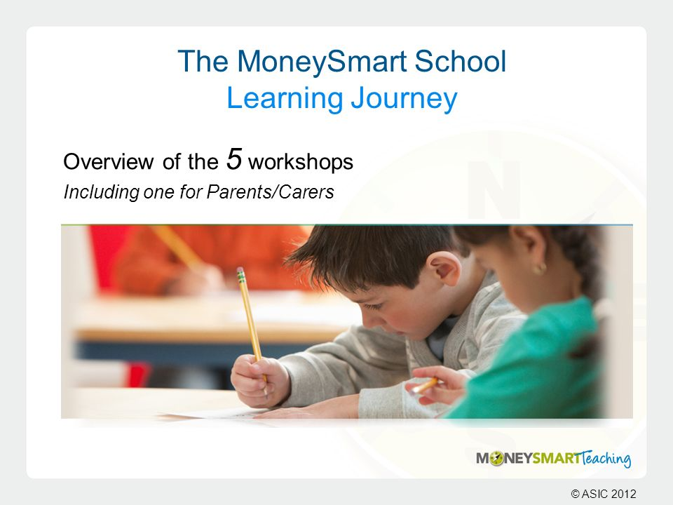 The MoneySmart School Learning Journey