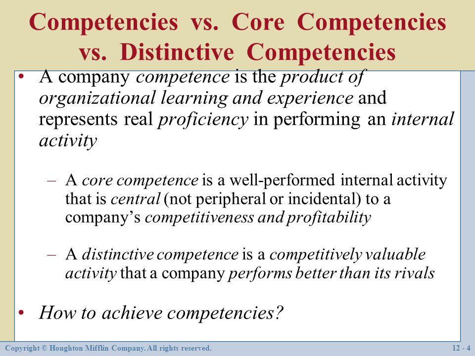 apple s distinctive competence Resource-based theory [1]  sociologist philip selznick developed the concept of distinctive competence [8]  apple remains world's most admired company,.